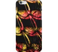 Army of misfits in red and yellow iPhone Case/Skin