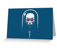 Mr. Freeze Greeting Card