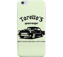 Toretto's Garage Car iPhone Case/Skin