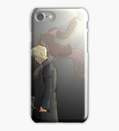 embrace of the angel iPhone Case/Skin
