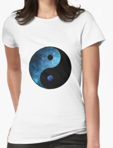 Ying Yang Womens Fitted T-Shirt