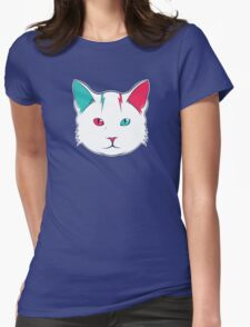 Zak the Cat Womens Fitted T-Shirt