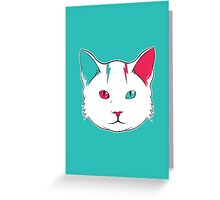 Zak the Cat Greeting Card