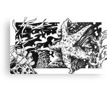 Tidal Pool Starfish Canvas Print