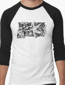 Tidal Pool Starfish Men's Baseball ¾ T-Shirt
