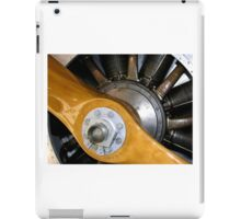Propeller and engine. iPad Case/Skin