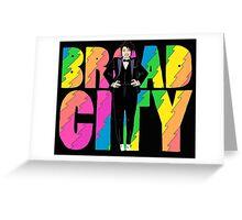 Broad City Ilana Tux Greeting Card