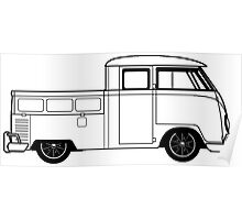 VW Truck Poster