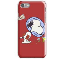 Snoopy Astronaut iPhone Case/Skin