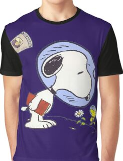 Snoopy Astronaut Graphic T-Shirt