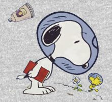 Snoopy Astronaut One Piece - Long Sleeve