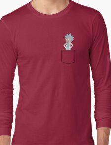 Tiny Rick Pocket! Long Sleeve T-Shirt