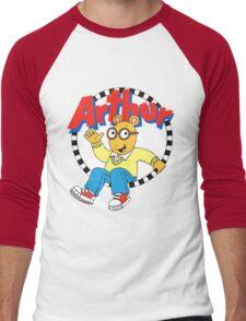 Funny Arthur Men's Baseball ¾ T-Shirt