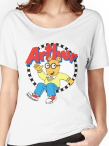 Funny Arthur Women's Relaxed Fit T-Shirt