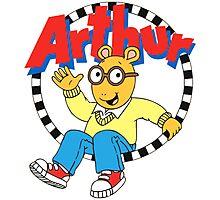 Funny Arthur Photographic Print