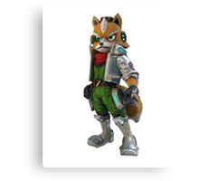 StarFox Zero- Star Fox Canvas Print