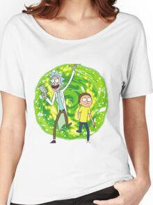 /*/Rick and Morty/*/ Women's Relaxed Fit T-Shirt