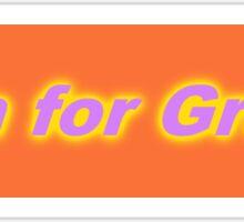 Bumper Sticker 2016 Series: Aim for Grace Sticker