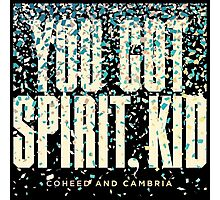 coheed and cambria you got spirit, kid Photographic Print
