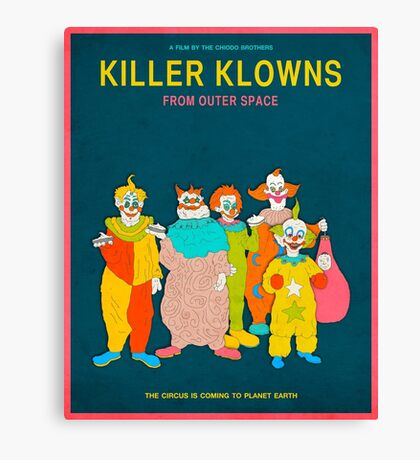 Killer Klowns from Outer Space Canvas Print