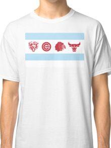 Chicago Sports Flag Classic T-Shirt