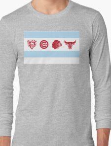Chicago Sports Flag T-Shirt