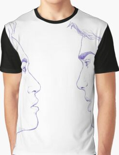 Malec Ballpoint Pen Sketch Graphic T-Shirt