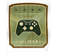 Retro Xbox One Controller Poster