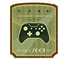 Retro Xbox One Controller Photographic Print