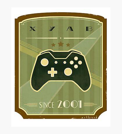 Retro Xbox One Controller Photographic Print