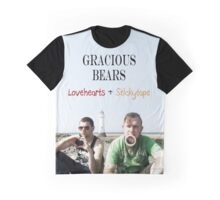 Gracious Bears - Lovehearts & Stickytape Graphic T-Shirt