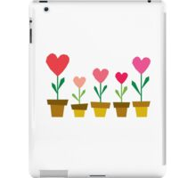 heart plants iPad Case/Skin