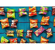 Colombian Snacks Photographic Print