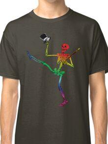 Depression Skeleton: Showtime! ROYGBIV Classic T-Shirt