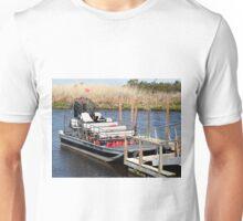 Florida swamp airboat Unisex T-Shirt