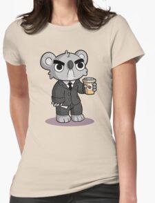 Grumpy Koala Womens Fitted T-Shirt