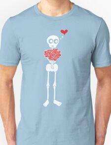 Peter the Skeleton - Roses Unisex T-Shirt