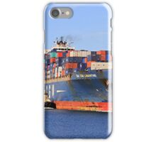 Lamartine container ship iPhone Case/Skin