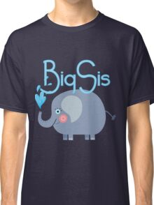 Elephant Big Sis Family Siblings Classic T-Shirt