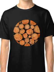 stack of wood Classic T-Shirt