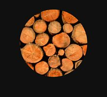 stack of wood Unisex T-Shirt