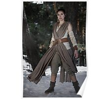 Rey cosplay 1 Poster