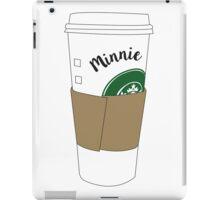 Minnie Coffee Cup iPad Case/Skin