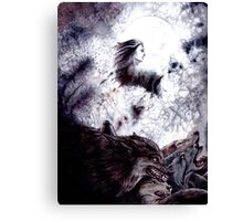 Sauron Brought Werewolves Canvas Print