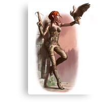 Elf Rogue Canvas Print