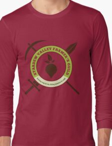 Stardew Valley Farmer's Guild Crest Long Sleeve T-Shirt