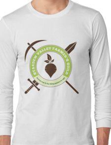 Stardew Valley Farmer's Guild Crest Long Sleeve T-Shirt