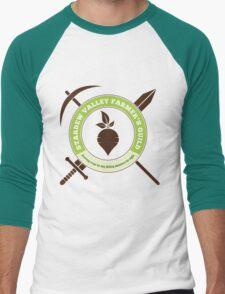 Stardew Valley Farmer's Guild Crest Men's Baseball ¾ T-Shirt