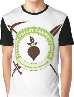 Stardew Valley Farmer's Guild Crest Graphic T-Shirt