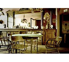 Old West Saloon Photographic Print